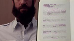obrazek znikającej ksiażki - doskonałej motywacji do nauki i czytania