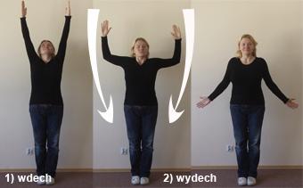 Ćwiczenie rozciągające ramiona